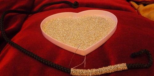 Colliers de fêtes en perles de rocailles