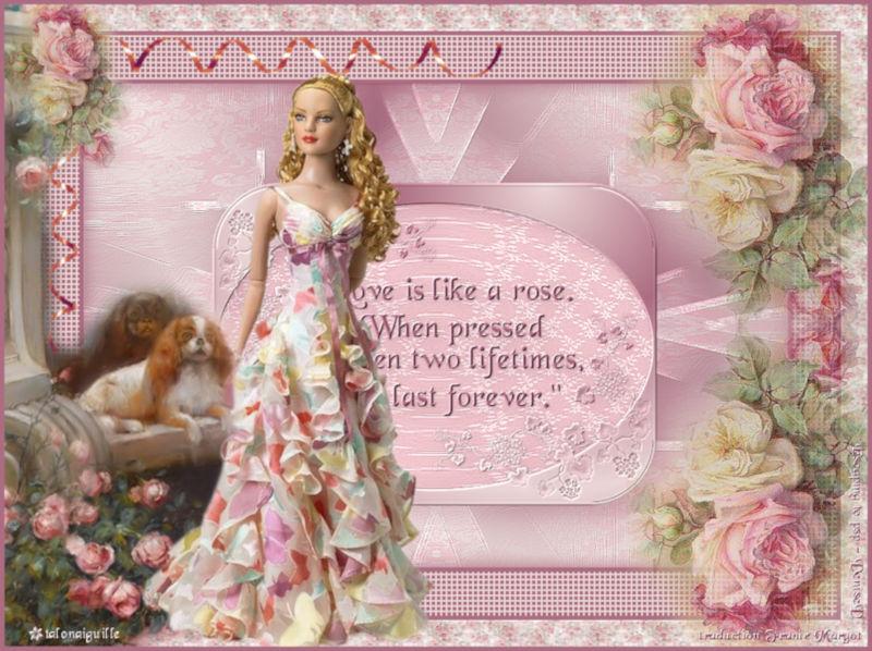 *** In a rose garden ***