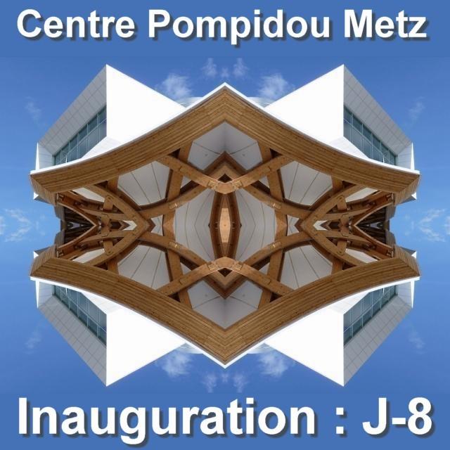 Inauguration du Centre Pompidou Metz mai 3 02 05 2010