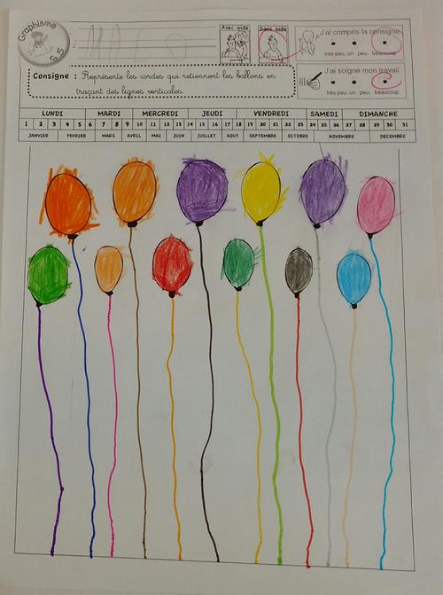 Cahier de graphisme MS