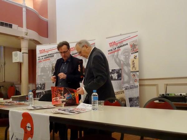 """""""Quels nouveaux regards sur 1936 ?"""", une conférence de Jean Vigreux, pour la Ligue des Droits de l'Homme Châtillonnaise"""