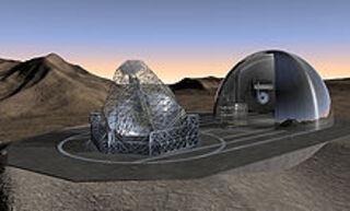 Les grands télescopes dans le monde :