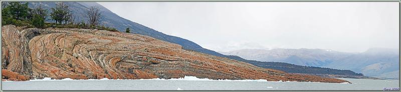 Merveille géologique - Brazo Rico du Lago Argentino - Patagonie - Argentine