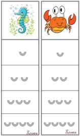 nombre de syllabes- thème mer