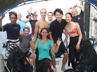 Plongées aux îles Tioman avec Simon