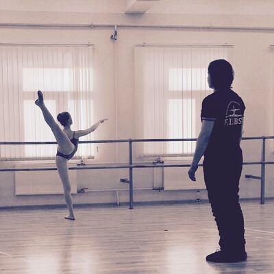 dance ballet class anton korsakov
