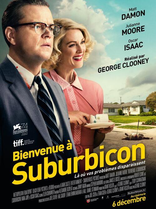 Bienvenue à Suburbicon de George Clooney avec Matt Damon - Découvrez 2 extraits - Mercredi 6 décembre au cinéma !