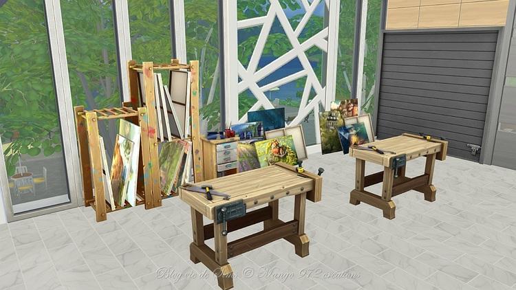 Les Sims 4 : reconstruction des muses municipales partie 2