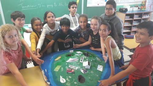 RESTITUTION DE NOS PROJETS DE CLASSE PAR LES CM1a