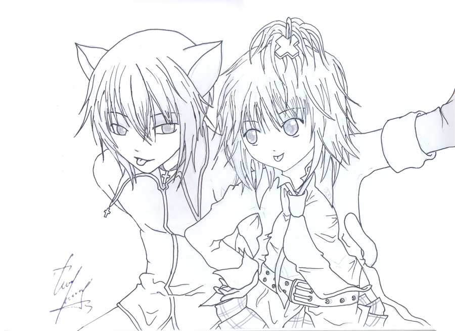 Shugo chara ran colouring pages - Chapitre 10 Le Depart Priscille2512