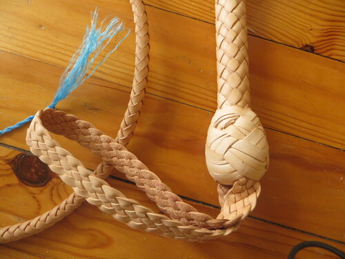 Bullwhip 5,5ft natural tan indy style