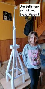 CM1 Défi scientifique : la tour en papier, les premières photos !