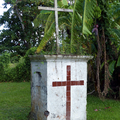 Les Trois-Îlets -Village de la Poterie - Croix - Photo : Gaëlle