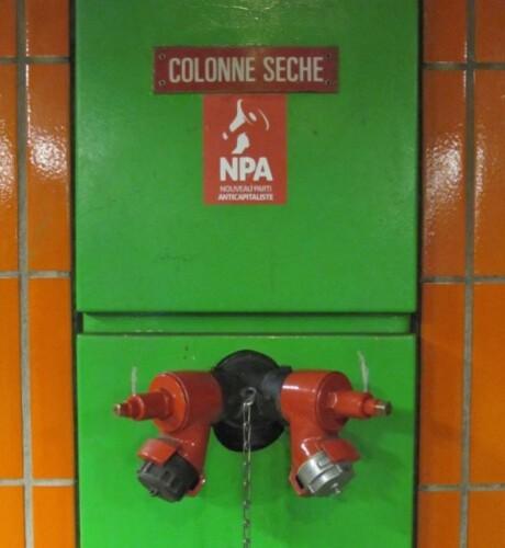 colonne sèche RER
