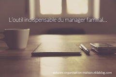 ✿ L'outil indispensable du manager familial...