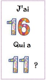 Autour des nombres 0-20