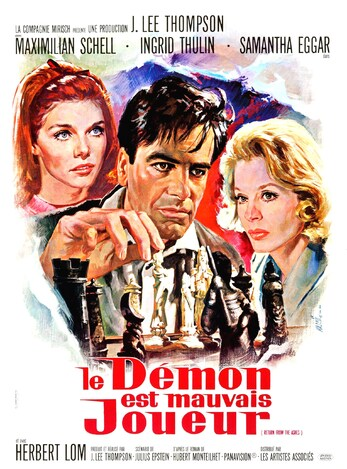 LE DEMON EST MAUVAIS JOEUR BOX OFFICE 1966