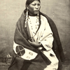 Pretty Horse, daughter of White Bull. Sioux. Montana. ca. 1861-1881. Photo by Stanley J. Morrow. Sou