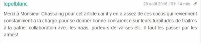 La guerre mémorielle s'amplifie   à Chalon-sur-Saône