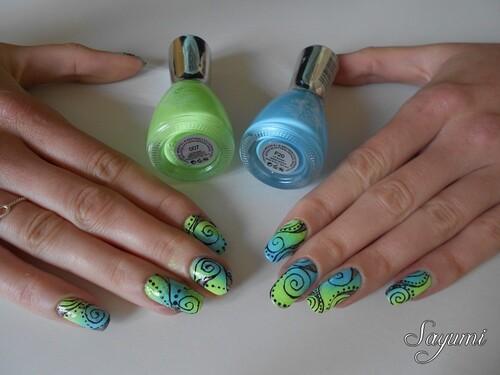 Nail Art inspiration Mojito