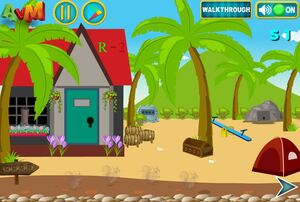 Jouer à AVM Escape rock beach