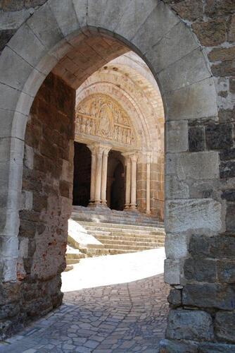 L'entrée du prieuré