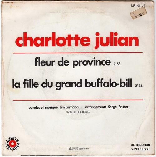 Charlotte Julian - Fleur De Province (1972)