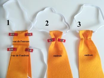 Tuto : Petite cravate enfant
