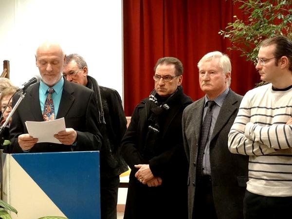Les vœux de Francis Castella, Maire de Sainte Colombe sur seine, pour 2014