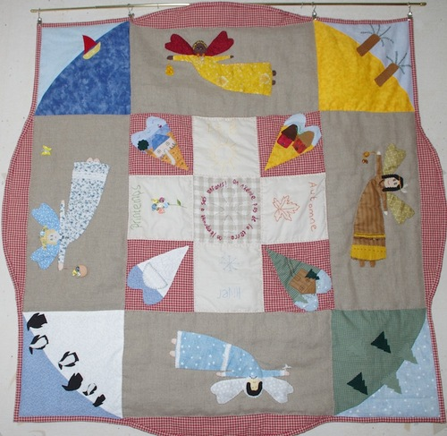 Happy quilting day