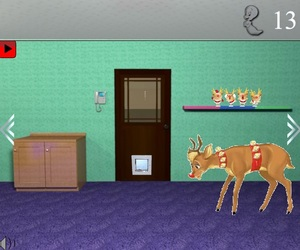 Jouer à Casper escape 8 - The hungry deer