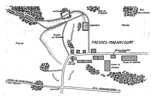 La Défense de fresnes - Mézancourt