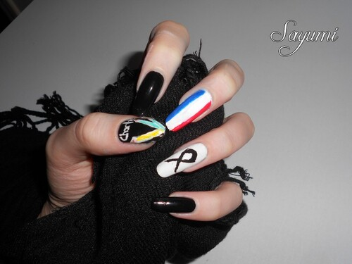 Nail Art - Je Suis Charlie