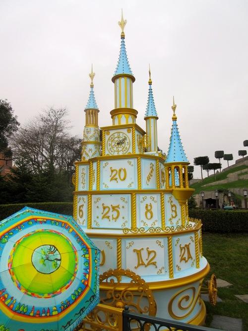 Disneyland et parapluies Poiré Guallino