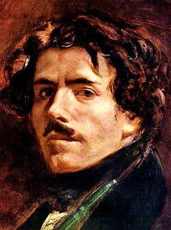 Né un 26 avril, Eugène Delacroix, chef de fil du mouvement romantique en peinture