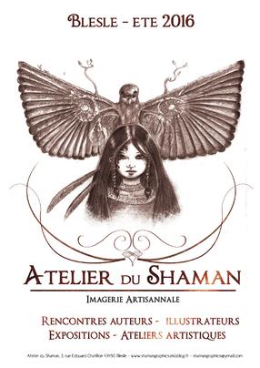 Atelier du shaman blesle rencontres auteurs illustrateurs expositions ateliers