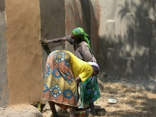 Direction le parc de Waza et l'ouest vers la frontière du Tchad