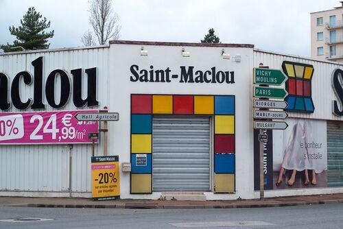 Roanne, 19/11/2011 rues Cuvier, Poutignat,  Crivelli, Carnot, Place des Promenades