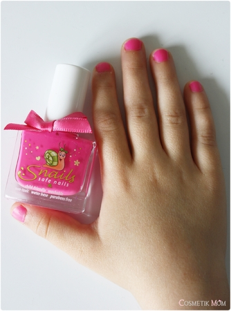 Pour les Mini Nail Polish Addict : les vernis Snails !