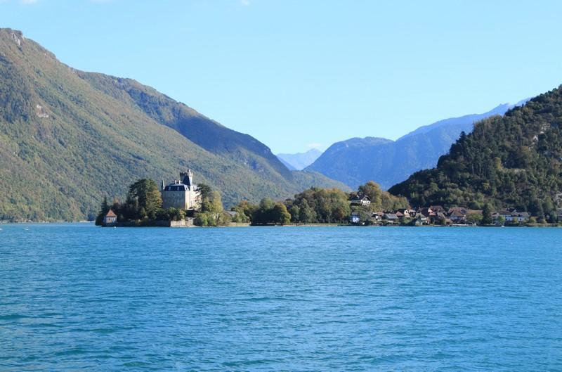 880 - Le Lac d'Annecy en bateau
