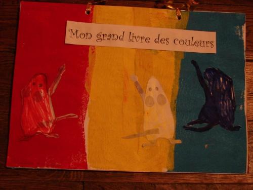 livre des couleurs : les mélanges de couleurs