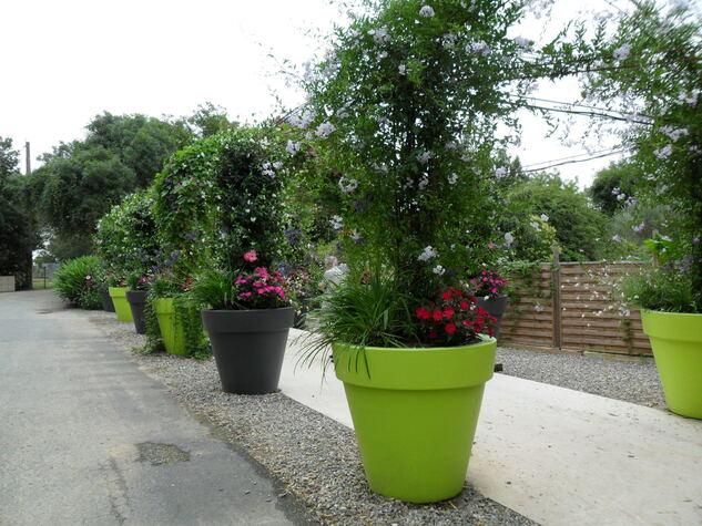 Le Jardin des Martels début Août 2016 à Giroussens (81)