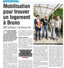 Wolu1200 : Mobilisation pour trouver un logement pour Bruno