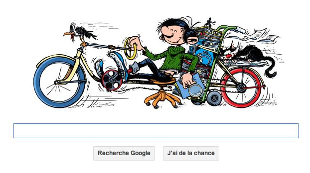 Doodle: Joyeux anniversaire Gaston Lagaffe