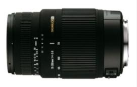 SIGMA 70-300 mm f4-5.6 DG OS (Equi. 24x36 : 112-480mm et 156-672 avec multiplicateur x1.4)