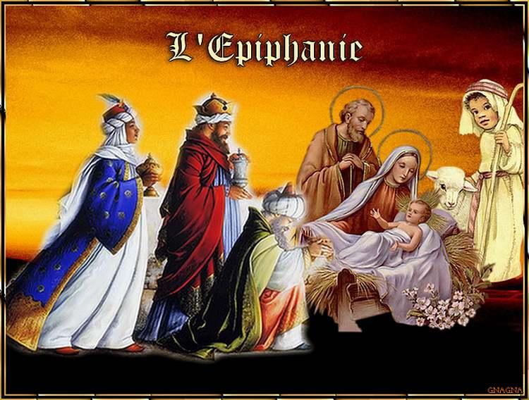 c'est aujourd'hui le jour de l'Epiphanie