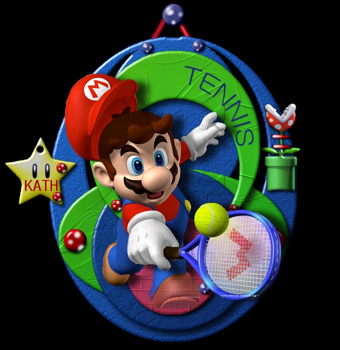 TEMPLATE DE MAI chez VIOLINE : Tennis