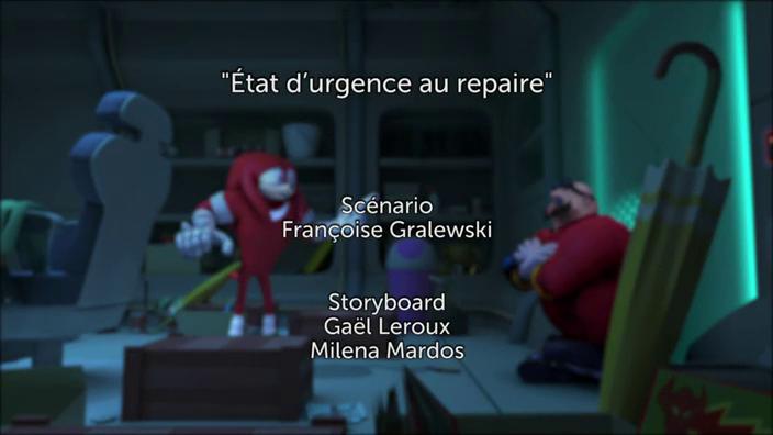 Sonic Boom - 2x41 - État d'urgence au repaire
