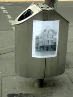 Mülleimer-Beklebung