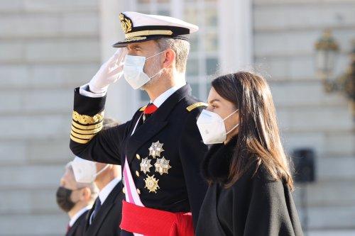 """Felipe et Leztizia président la """"Pascua militar"""" pour la nouvelle année"""